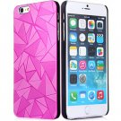 Luxury 3D Water Cube Pattern Hard Slim Back Cover Case for iPhone 6 5.5 inch