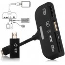 5 in 1 MHL to HDMI Connection Kit Micro 5-pin to 11-pin Adapter for Samsung HTC MI2   BLACK