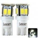 2pcs Sencart T011 T10 3W 80 - 120lm White Light 11 SMD 5730 LEDs Car Reading Light (12 - 16V)