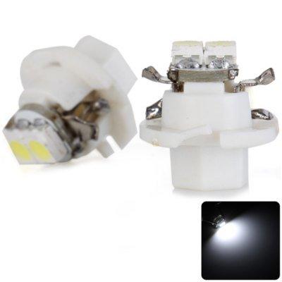 2pcs Sencart B8.5 White Light Car Instrument Light