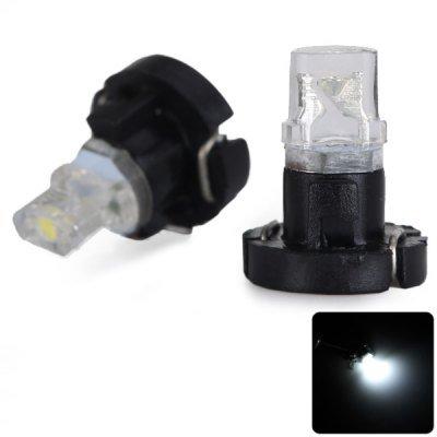 2pcs Sencart T3 White Light Car Instrument Light