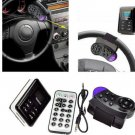 Car Bluetooth Hands-free MP3 Player Kit FM Transmitter/ Phone Charger with Aiming Circle