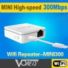VONETS MINI300 300Mbps Wireless Travel Router Intelligent WiFi Repeater   NN0040701