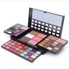 74 Color Eye Shadow Blush Lip Gloss Eyebrow Cosmetic Makeup  Eyeshadow Palette #65826