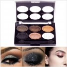 6 Color New Women Party Glitter Makeup Cosmetics Eyeshadow Palette with Brush Eye Shadow#63555
