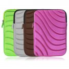 """8"""" Wave Sleeve Case Zipper Bag Pouch for 7"""" MID Tablet E Reader Kobo Book Tab"""