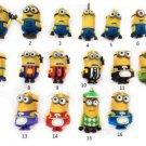 4 GB Cartoon Minions toy model  USB 2.0 Memory Stick Flash pen Drive