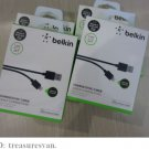 GENUINE OEM BELKIN 8-Pin Lightning to USB Sync Charger Cable-iPhone/5/5S/5C iPod