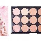 15 Color Concealer Eyeshadow Palette Contour Face Cream # 57322
