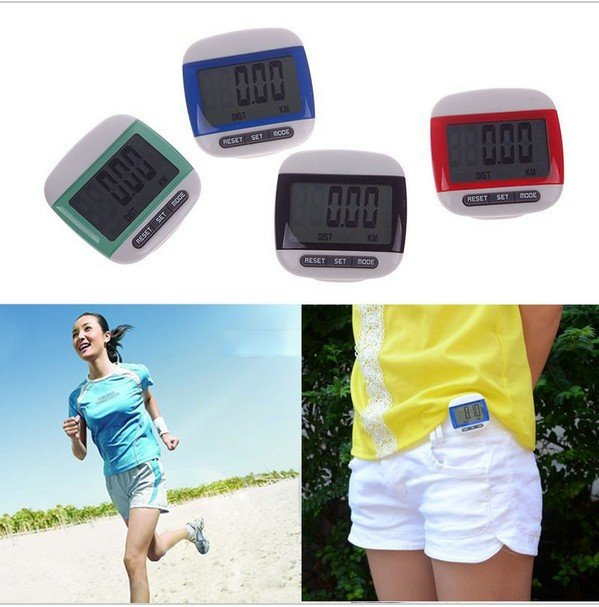 Mini LCD Pedometer Calorie Walking Distance Calculation Digital Counter 06 #53845