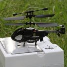 Newest Super Mini QS QS5013 2.5CH Micro Remote Control RC Helicopter Black
