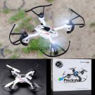Predator 2.4Ghz 4CH Radio Control RC 6 Axis Gyro Mini Quadcopter UFO Drone White