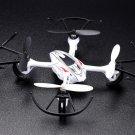1x Predator 2.4Ghz 4CH Radio Control RC 6 Axis Gyro Mini Quadcopter UFO Drone (White)