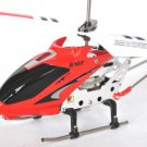 Syma S107G 3.5 Channel Remote Control Alloy RC Helicopter Gyro LED Light Toy Red x1