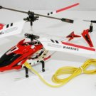 1x Syma S107G 3.5 Channel Remote Control Alloy RC Helicopter Gyro LED Light Toy Red x1