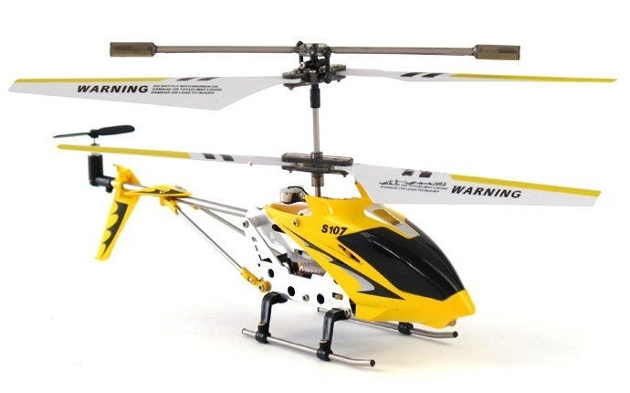 Syma S107G 3.5 Channel Remote Control RC Helicopter Gyro LED Light Indoor Toy #17