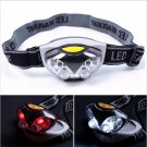 LED Head Lamp Torch Light Hands Flashlight With Headband Emergency Survival for Camping #985