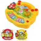 1x Baby Kid Animal Farm keyboard Piano Music Toy Useful Developmental Gift Popular