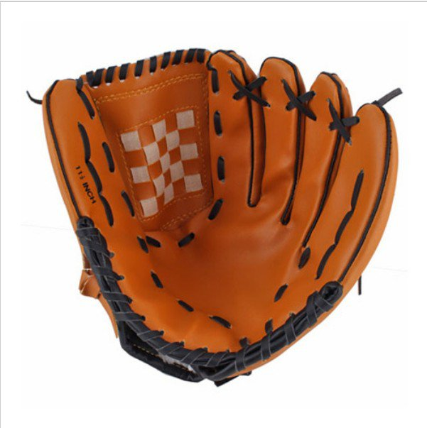 Dark Brown Durable Men Softball Baseball Glove
