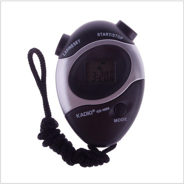Waterproof Second Chronograph Timer Stopwatch Sport Counter Digital Odometer #287