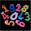 10 Number Wooden Fridge Magnets Toy Small