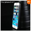 "Ultra thin Slim Aluminium Metal Bumper Frame Case For Apple Iphone 6 4.7""  COLOR BLACK"
