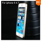 "Ultra thin Slim Aluminium Metal Bumper Frame Case For Apple Iphone 6 4.7""  COLOR GOLD"