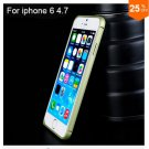 "Ultra thin Slim Aluminium Metal Bumper Frame Case For Apple Iphone 6 4.7""  COLOR GREEN"