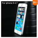 "Ultra thin Slim Aluminium Metal Bumper Frame Case For Apple Iphone 6 4.7""  COLOR SILVER"