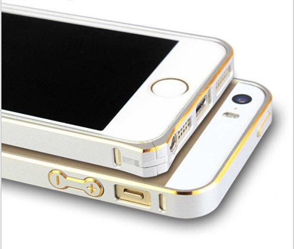 Ultra thin Slim Aluminium Metal Bumper Frame Case For apple Iphone 5/5S/5G (RED