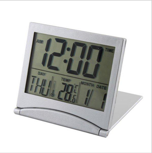 New Desk Digital LCD Thermometer Calendar Alarm Clock