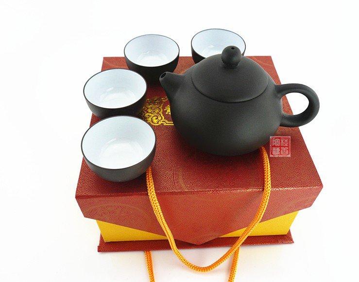 Yixing tea teapot set quality exquisite gift handmade gift box packaging Chinese tea
