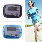 LCD Run / Walk Pedometer Kilometer / Mile Distance Calorie Counter 08#53847