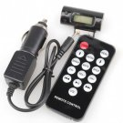 Car Charger Adapter+FM Transmitter+Remote For iPhone 4 4G 3GS 3G 2G iPod Touch
