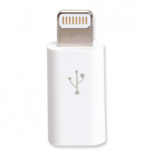 8 Pin to Micro USB Adapter Converter Connector for iPhone 5 iPod Touch 5th