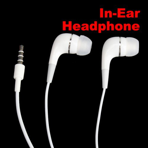 New In-Ear Earbuds Earphone Headphone With Mic For iPhone 4 4G MP3 Mp4 3.5mm Hot