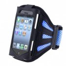 Sports Gym Jogging Arm Band Arm Strap Cover Case Blue forApple iPhone 3G 3GS 4G 4GS
