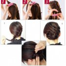 French Twist Styling Tool Sponge Hair Braider Hair Twist Tool DIY