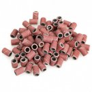 100PCS Sanding Band Drill File Machine Bits Ring for Nail Art
