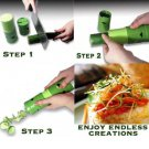 Vegetable Fruit Twister Cutter Slicer Processing Device Kitchen Utensil Tool