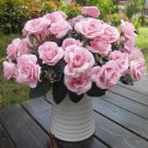 1 Bouquet French Rose Artificial Silk Flower Party Home Wedding Floral Decor New( pink