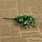 1 Bouquet Silk Artificial baby's breath Gypsophila Flower Wedding Home Decor (COLOR WHITE