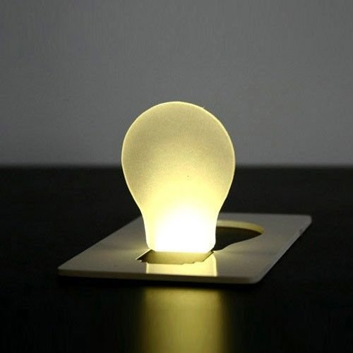 LED Card Light Lamp Can Be Put In Pocket Purse Wallet      SKU:6524