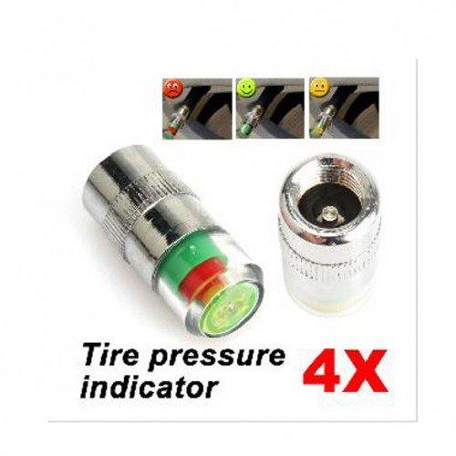 Tire Pressure Monitor Valve Stem Cap Sensor Indicator