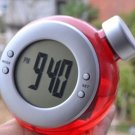 Eco-friendly Water Power Digital LCD Display Table Clock (red