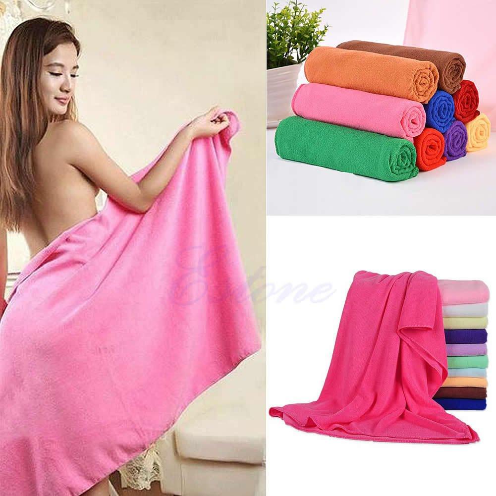 70x140cm Absorbent Microfiber Drying Bath Beach Towel