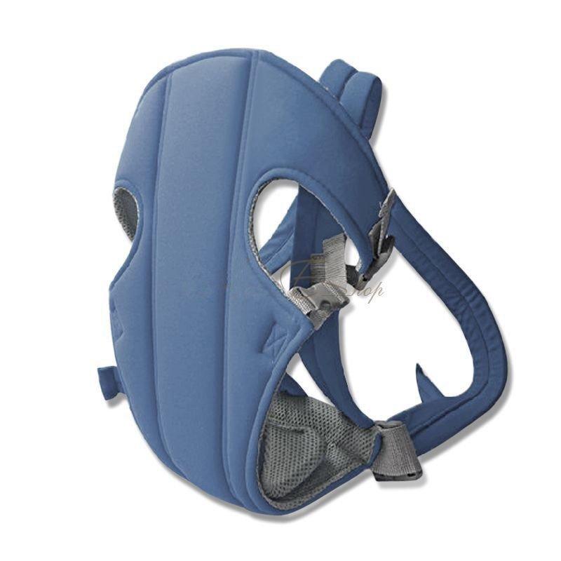 Newborn Kid Infant Baby Carrier Backpack Front Back Rider Sling Comfort Wrap (COLOR BLUE