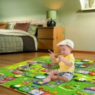 Baby Kid Toddler Crawl Play Game Letter Alphabet Mat Carpet Picnic 180*120CM