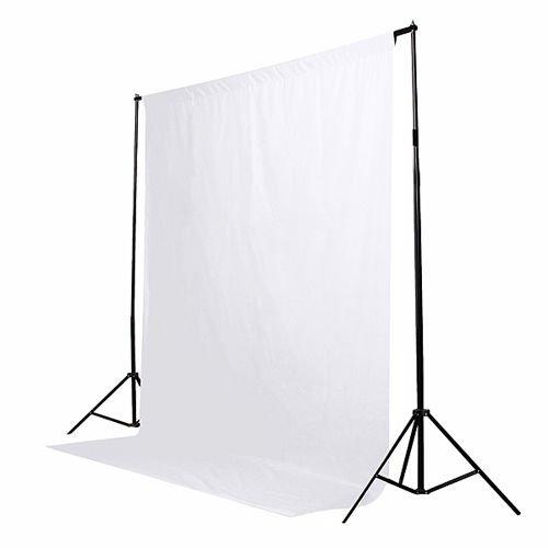 6 x 9ft White Screen Muslin Photo Studio Photography Backdrop Background