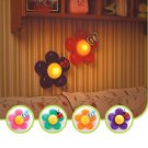 Baby Kids Funny Nursery Room Decor Bedside Flower LED Touch Lamp Night Light